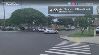 Two men dead, another injured in shooting at Pearl Harbor; shooter identified as U.S. Navy sailor