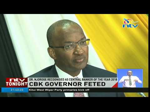 Dr. Njoroge recognised as Central Banker of the year 2018