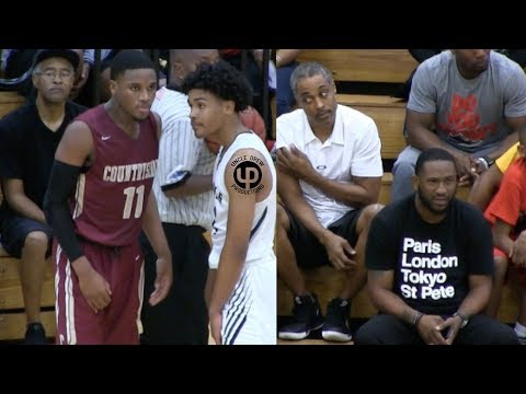 Tai Strickland Drops 35!! Dad Approves.. Countryside vs St. Pete- Round 3, PCAC Championship