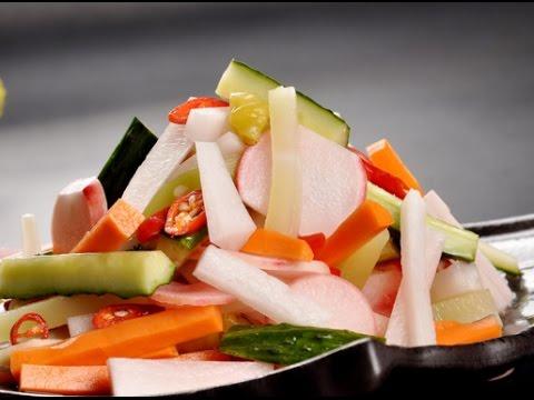 四川泡菜 — 制作超简单!家庭必备的佐餐小菜