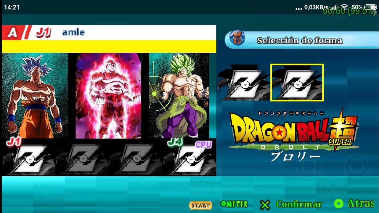 Hướng dẫn tải game DRAGON BALL Z TENKENCHI TAG VS TEAM MOD SUPER BROLY V.9.