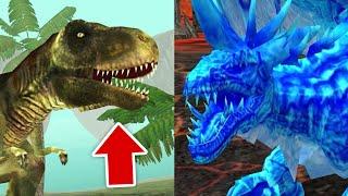ДИНОЗАВР против ДРАКОНА в Dragon Sim