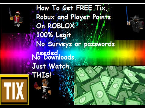 [ROBLOX] FREE TIx And ROBUX! No jailbreak 100% Legit and ...