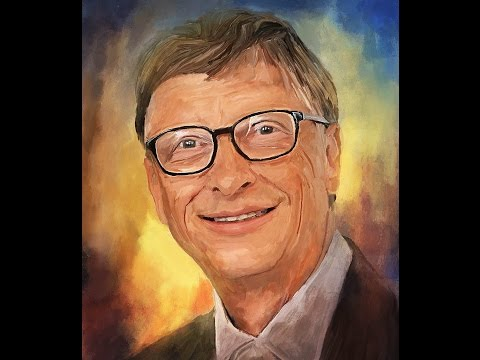 Bill Gates Hard Smudge Tutorial (how to make photo into oil painting style)