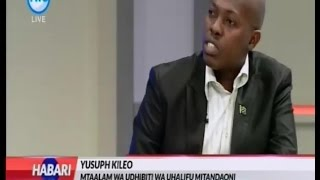 YUSUPH KILEO -  AZAM TV HABARI