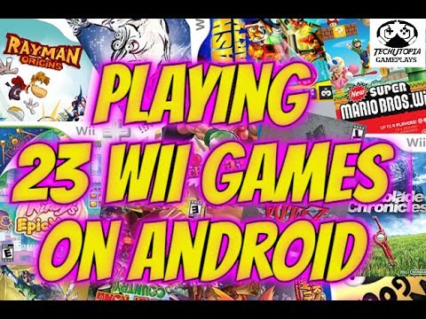 Playing 23 Wii Games On Android Smartphone Dolphin GC/Wii Emulator Test/Wii Gameplay
