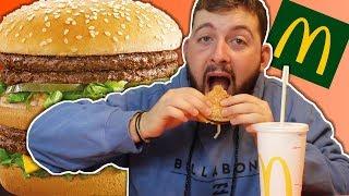 MUKBANG McDONALD'S - Dégustation du nouveau burger MEGA MAC !