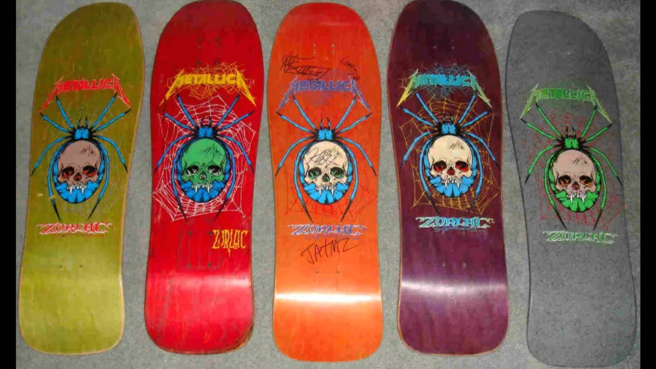Metallica Zorlac Skateboards Youtube