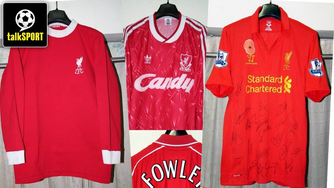 on sale de980 5df2d Liverpool Kits Through The Ages | 40 Years Of Shirt