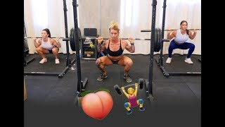 Killer Crossfit AMRAP Workout   Female Coaches Get Down & Dirty ?️