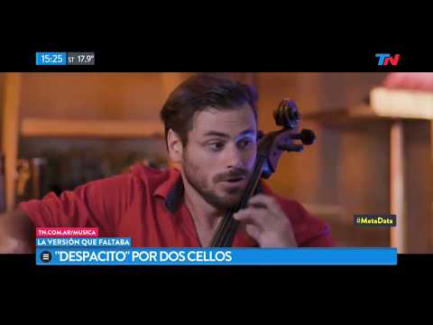 Despacito tocada con dos cellos