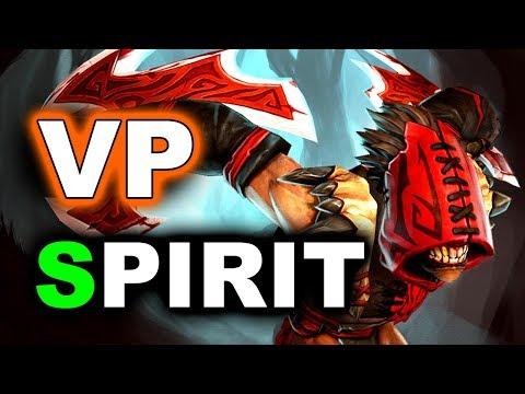 VP vs SPIRIT - CIS GRAND FINAL - ESL MAJOR DOTA 2