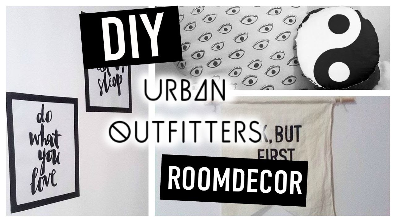 diy room decor urban outfitters tumblr inspired cute cheap easy tyrone williams youtube. Black Bedroom Furniture Sets. Home Design Ideas