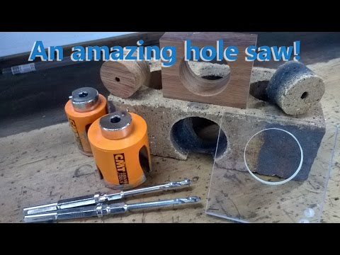 Industrial carbide hole saws for DIY and professionals.