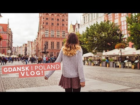 Gdansk, Poland Vlog! Visiting the old city