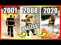 Evolution of FIREFIGHTERS LOGIC in GTA Games 2001-2020