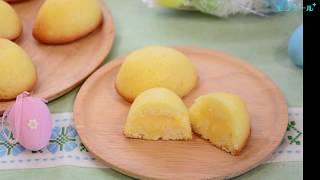 【スイーツレシピ】カスタードケーキ Custard Cake