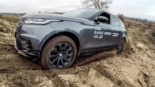 Range Rover Velar: антигламурный тест-драйв