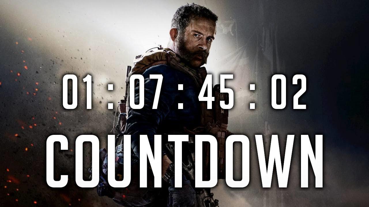 Call of Duty Modern Warfare COUNTDOWN: Release date, start ...