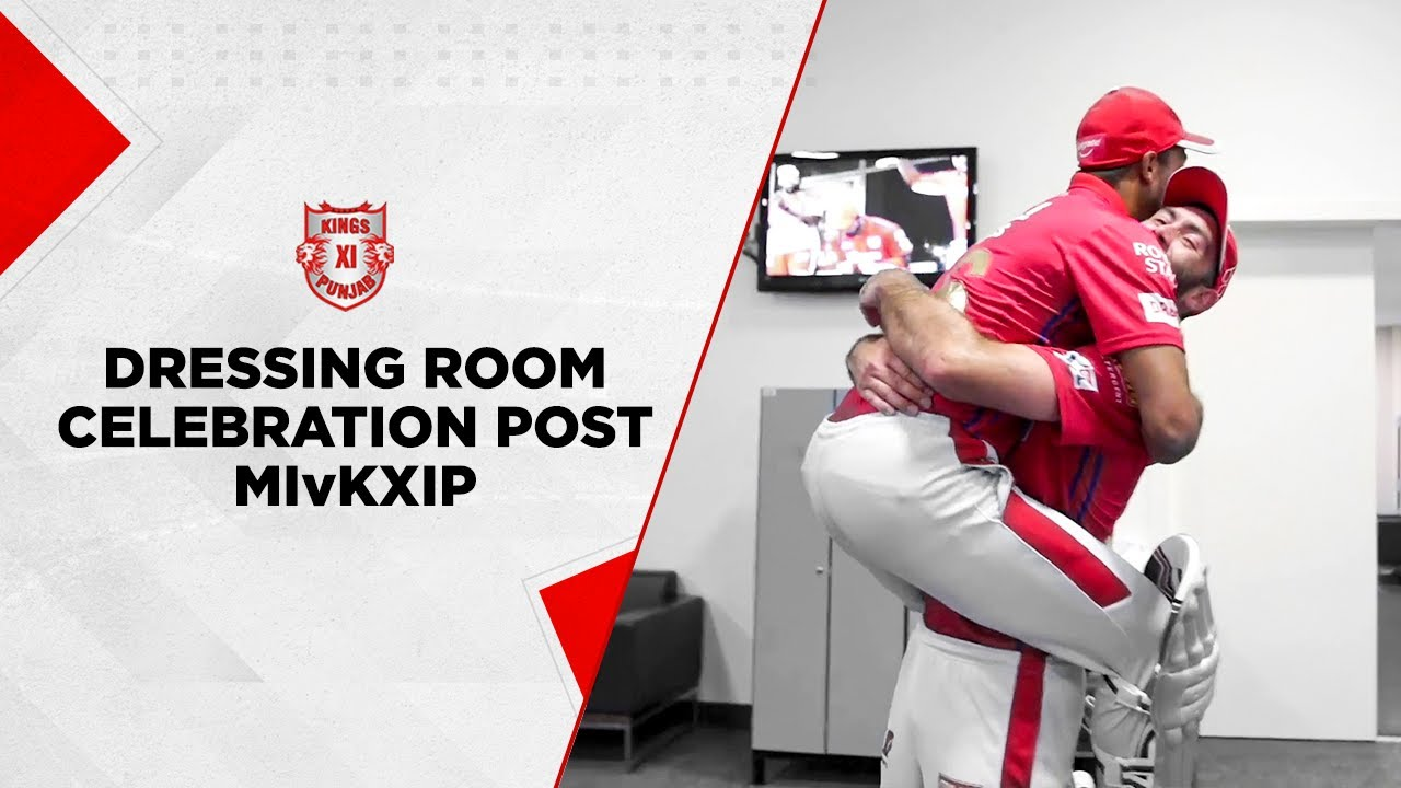 Dressing room celebrations post MIvKXIP!