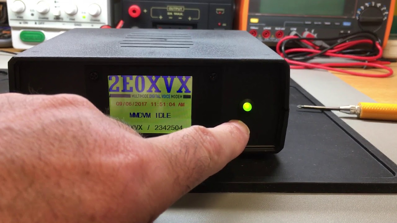 MMDVM Hotspot by Michael Lawrence