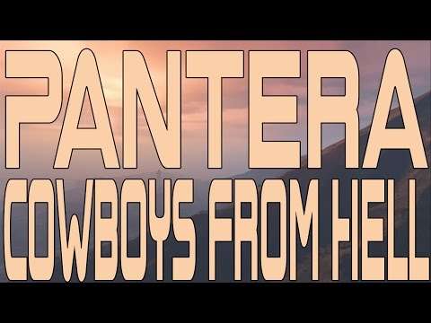 Pantera - Cowboys From Hell (Instrumental Cover)