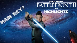 I'm Maining Rey | Star Wars Battlefront 2 Highlights
