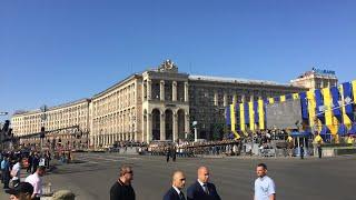 Парад в честь 27-й годовщины независимости Украины