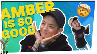 AMBER IS SO GOOD AT THIS GAME | Psychiatrist ft. Amber Liu
