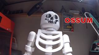 Giant Skeleton Minifig - 3D Printed