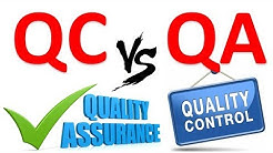 Difference between Quality Assurance (QA) & Quality Control (QC)- Learn in 7 minutes