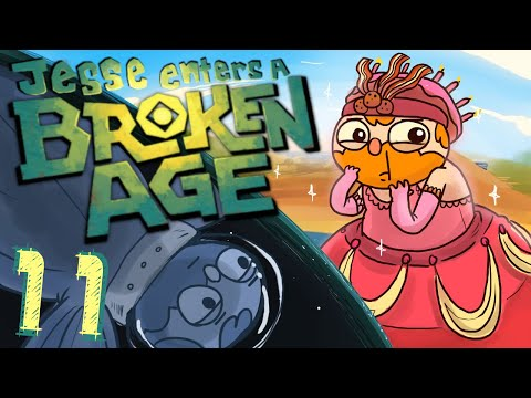 Broken Age: Act 2 [Vella's Story] - The Incredible Misadventures Of Hexigal
