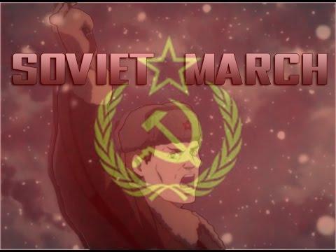 First Squad - AMV - Soviet March (Full Lyrics)