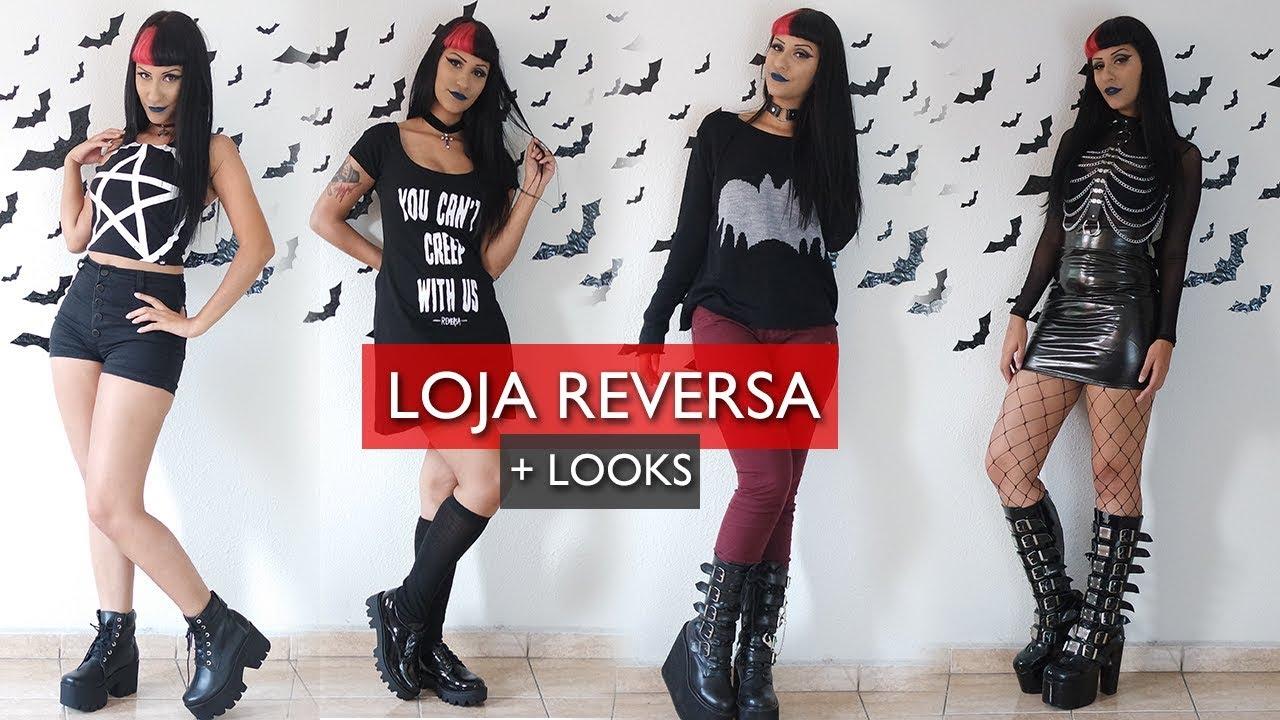 768929352b UNBOXING ÉPICO DA REVERSA + 4 LOOKS | NOSFEROTIKA - YouTube