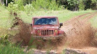 Jeep Wrangler 4d - внедорожное движение (60p)