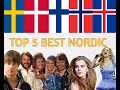 Top 5 Best Nordic Countries in Eurovision (by All Time Results)