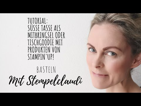 "26. Video/ 🎅🏼 Tutorial ""Tasse""🎅🏼 Süßes Mitbringsel zu Nikolaus ( cm Maße in der Infobox❗️❗️❗️)"