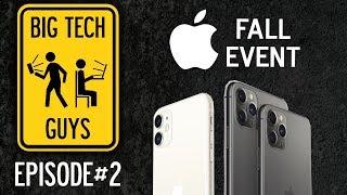 BTG PODCAST #2: Apple Fall Event Recap (feat. Nate)