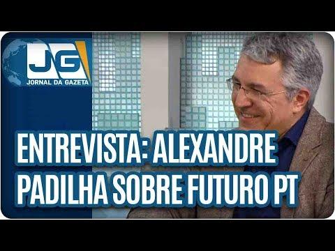Maria Lydia entrevista Alexandre Padilha, vice-pres. nacional do PT, sobre o futuro do partido