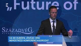 Itt az ideje Európa jövőjéről beszélni - Szijjártó Péter - ECHO TV mp3 gratis