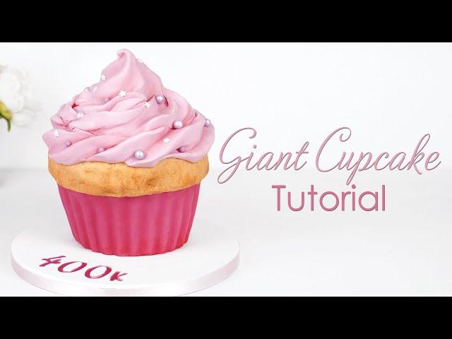 Giant Cupcake - Cake Decorating Tutorial - Plus 400k subscribers