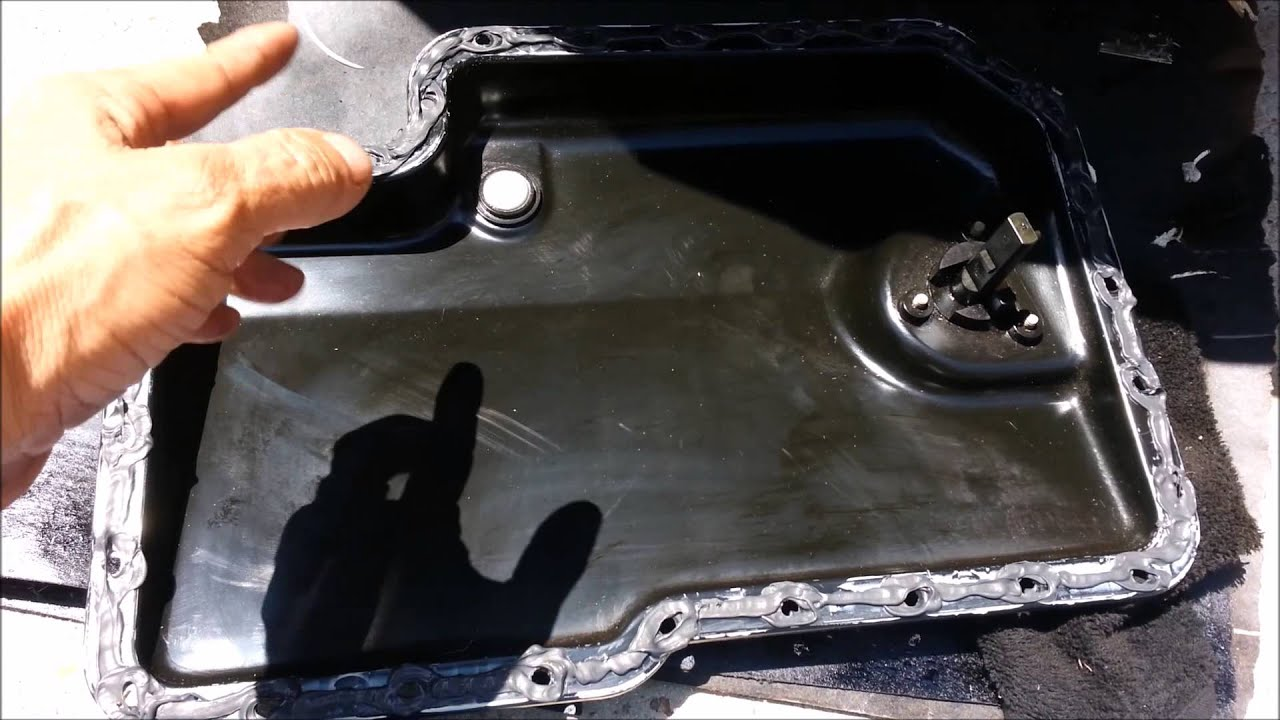 AUDI A8 VW BMW HOW TO FIX ENGINE OIL PAN LEAK - YouTube
