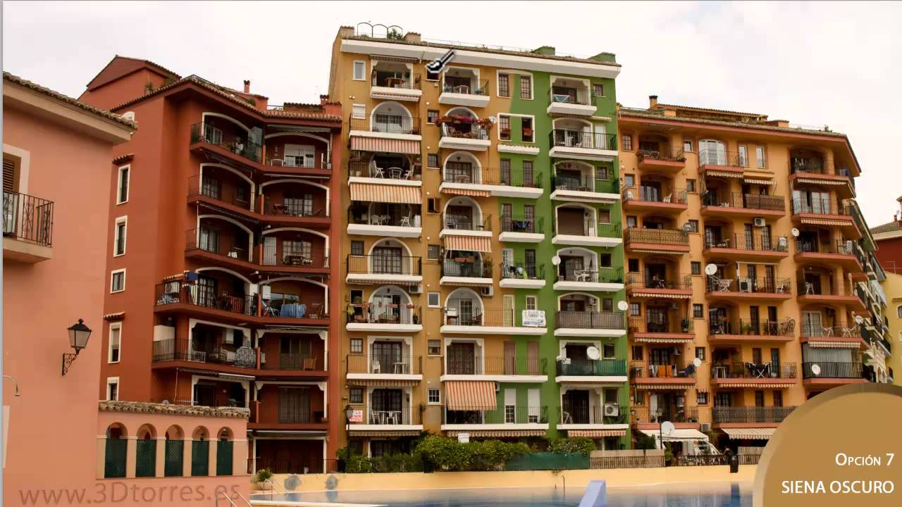 Pintar la fachada es f cil youtube - Pintado de fachadas ...