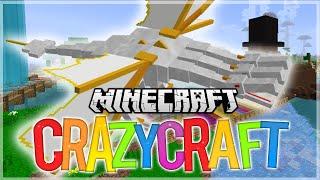 FIGHTING THE KING! - Minecraft: Youtuber Survivor! [119] (Crazy Craft 3.0 SMP) w Wafflez