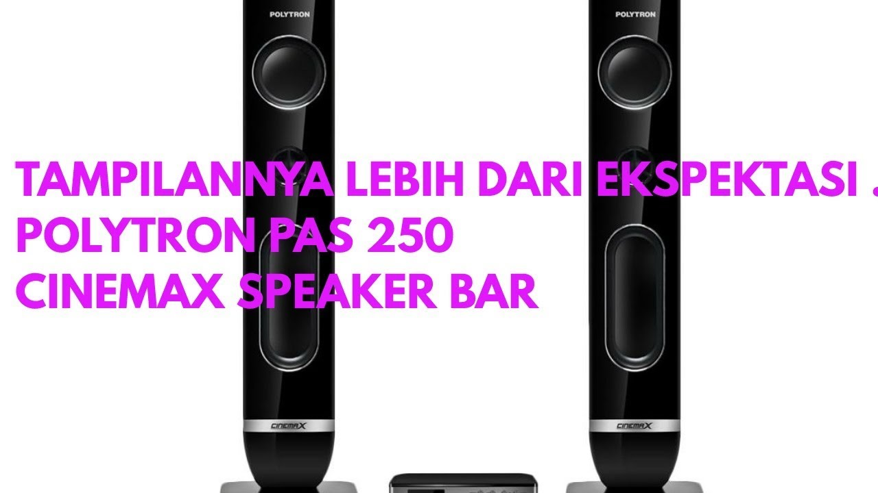 Polytron PAS 250 Cinemax Speaker Bar