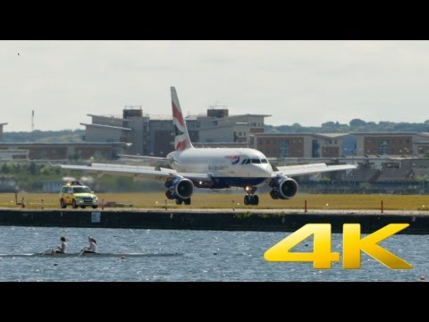 [4K] London City Airport