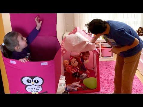 SAKLAMBAÇ OYNADIK Hide And Seek Eğlenceli Çocuk Videosu
