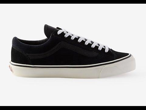 e1e2f47cbc Shoe Review  Vans Vault Originals x Steven Alan  Italian Corduroy  OG Style  36 LX (Black Navy Cord)