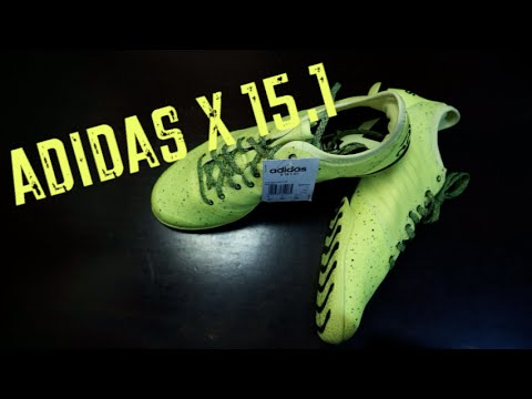 19121a12e adidas X 15.1 CT Unboxing - YouTube