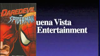 Opening to Daredevil vs. Spider-Man 2003 VHS (Australia)